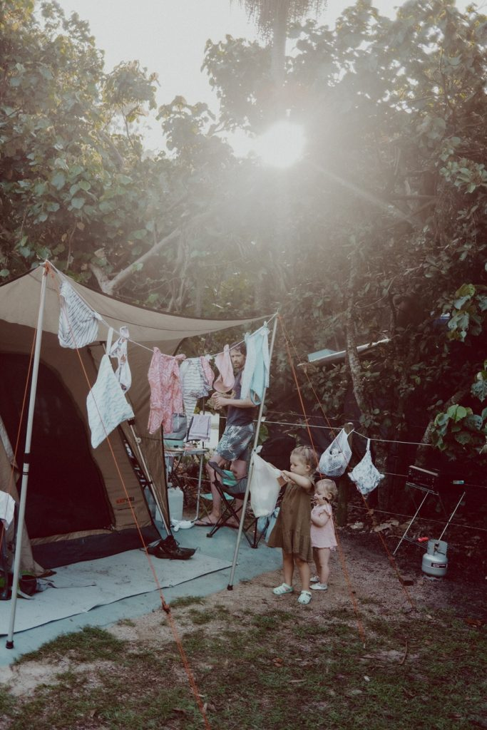 Camping with cloth nappies